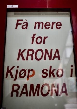 Få mere for KRONA, kjøp sko i RAMONA