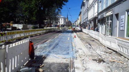 Gaten er gravet opp