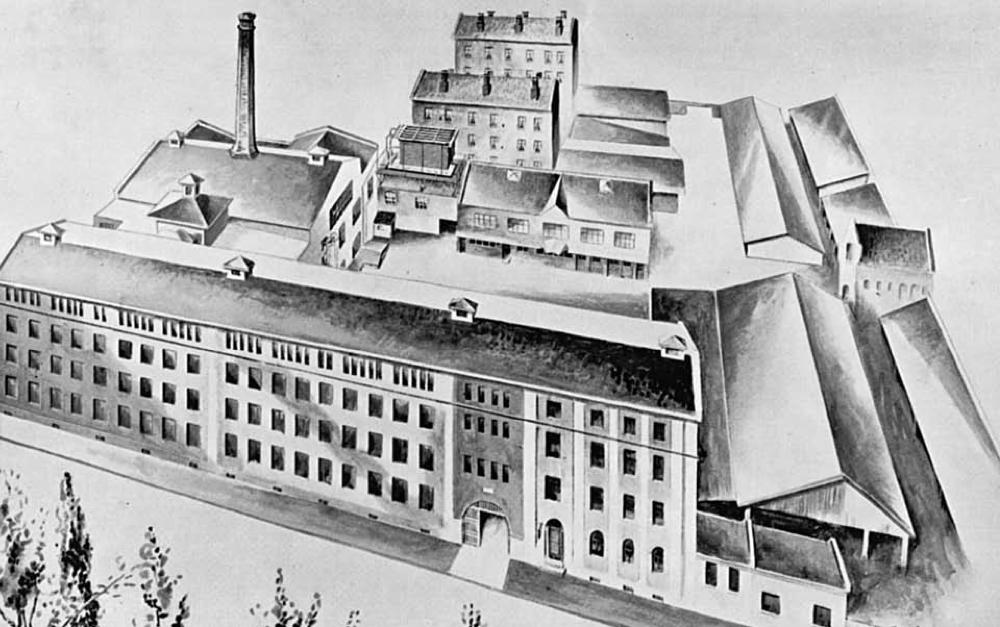 Fabrikken ved 50-års jubileet i 1935.